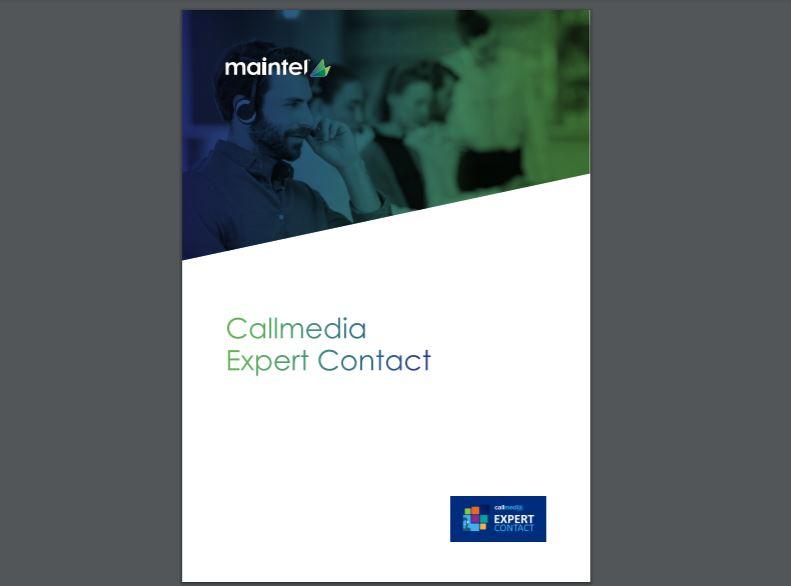 Callmedia Expert Contact brochure